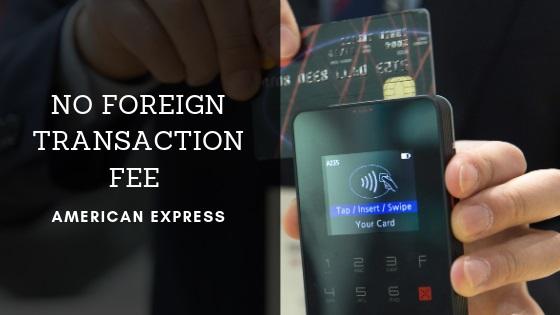 American Express No Foreign Transaction Fee | FAIR Inc
