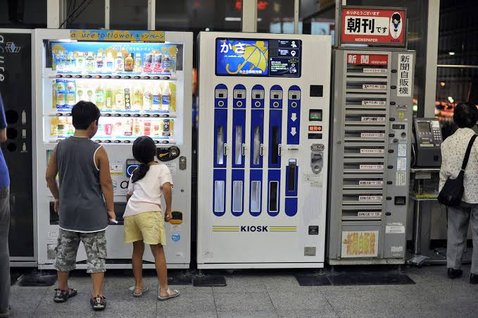 Umbrella Vending Machines in Japan | FAIR Inc