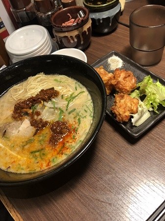 Ramen with Karagi | FAIR Inc